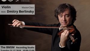 Violin Master Class - Dmitry Berlinsky