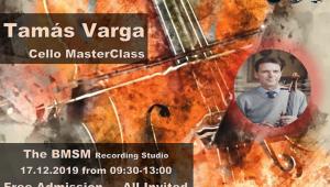 Cello Master Class - Tamás Varga