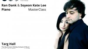 Ran Dank & Soyeon Kate Lee - Piano Master Class